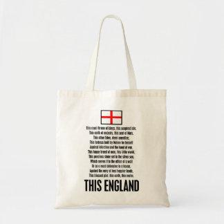 This England Tote Bag