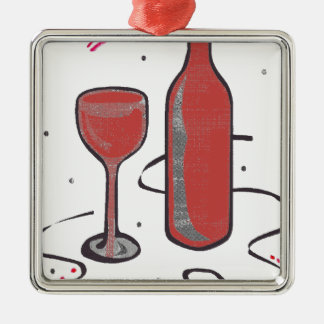 THIS EVENING It IS FÊTE.png Metal Ornament