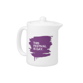 This festival is gay