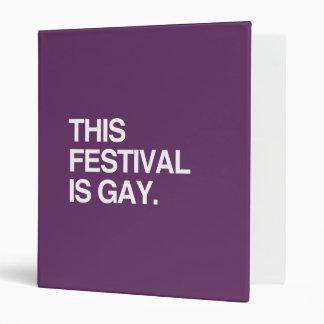 This festival is gay binders