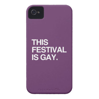 This festival is gay blackberry bold covers