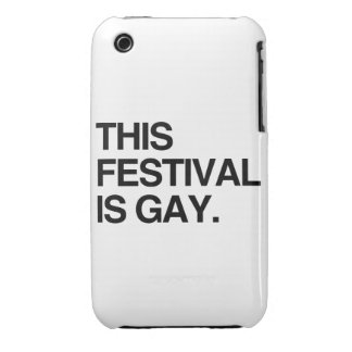 This festival is gay iPhone 3 Case-Mate case