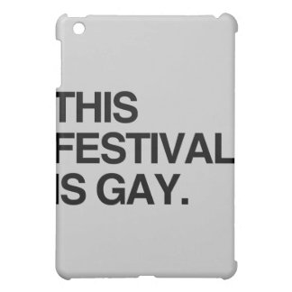 This festival is gay cover for the iPad mini