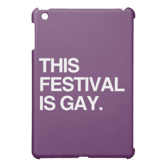 This festival is gay iPad mini covers