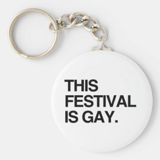 This festival is gay keychains