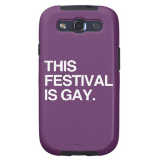 This festival is gay samsung galaxy s3 cover