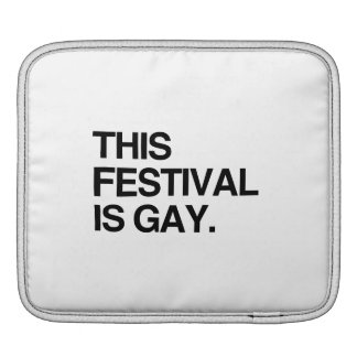 This festival is gay sleeve for iPads
