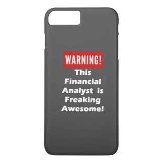 This Financial Analyst is Freaking Awesome! iPhone 8 Plus/7 Plus Case