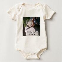 This fool baby bodysuit