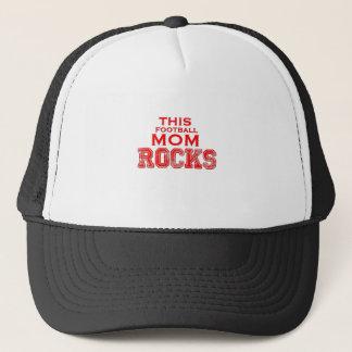 This Football Mom Rocks Great Gift Trucker Hat