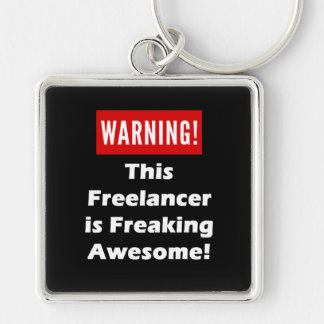 This Freelancer is Freaking Awesome! Keychain