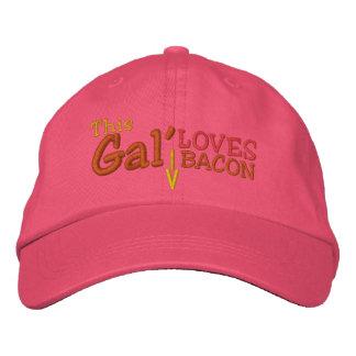 This Gal' Loves Bacon Baseball Cap