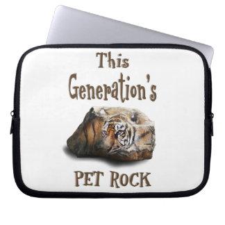 This Generation's Pet Rock Laptop Computer Sleeve