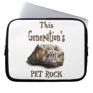 This Generation's Pet Rock Laptop Sleeve