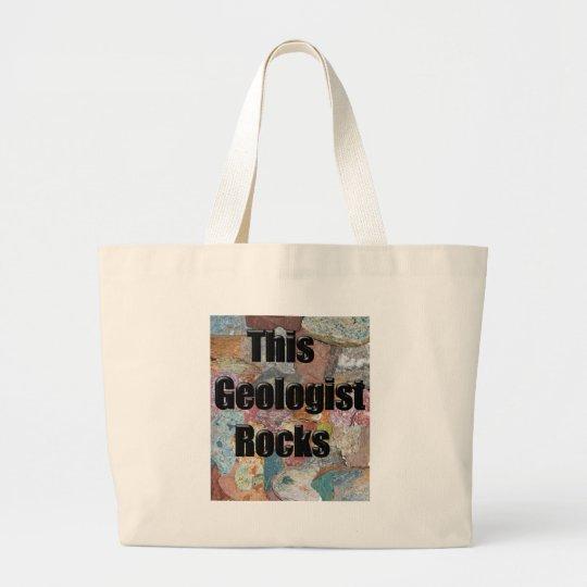 This geologist rocks 1 large tote bag