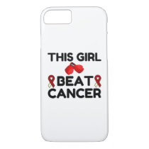 THIS GIRL BEAT CANCER iPhone 8/7 CASE