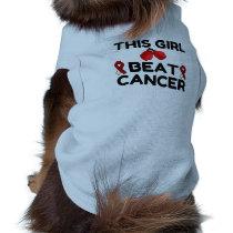 THIS GIRL BEAT CANCER SHIRT