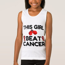THIS GIRL BEAT CANCER TANK TOP