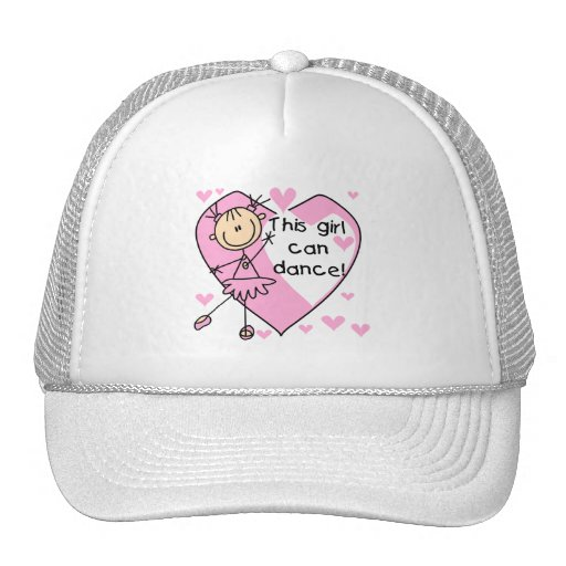 This Girl Can Dance T-shirts and Gifts Hats