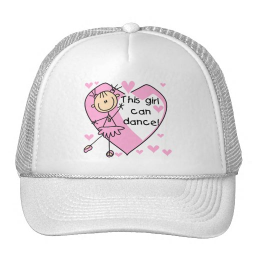 This Girl Can Dance T-shirts and Gifts Hat