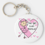 This Girl Can Dance T-shirts and Gifts Key Chain