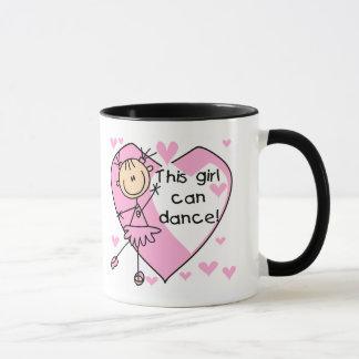 This Girl Can Dance T-shirts and Gifts Mug