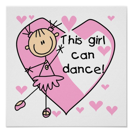 This Girl Can Dance T-shirts and Gifts Poster