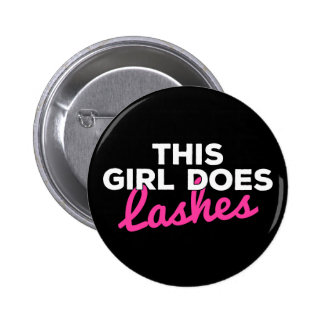 This girl does Lashes Button