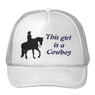 This Girl is a Cowboy Trucker Hat