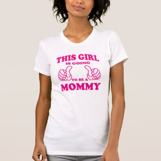This Girl is going to be a Mommy Tanktops & Tshirt
