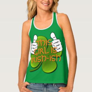 This Girl Is Irish Tank Top