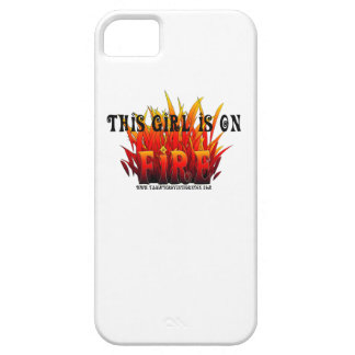 This Girl Is On Fire iPhone SE/5/5s Case