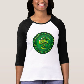 This Girl is Protected by an Irishman T-Shirt
