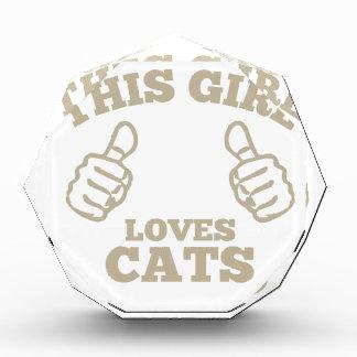 This Girl Loves Cats Award
