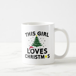 This Girl Loves Christmas Coffee Mug