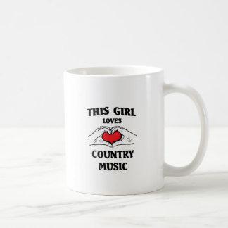 This girl loves Country Music Coffee Mug
