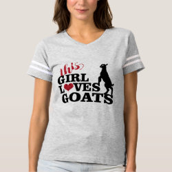This Girl Loves Goats Baby Toggenburg T-shirt