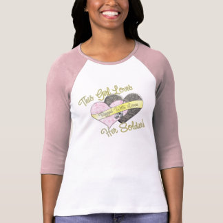 This Girl Loves He Soldier T-Shirt