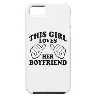 This Girl Loves Her Boyfriend - iPhone 5 Cases