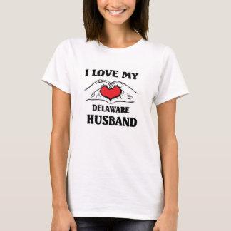 This girl loves her Delaware Husband T-Shirt