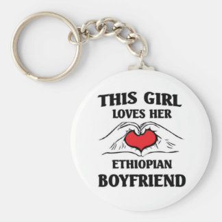 This girl loves her Ethiopian Husband Keychain