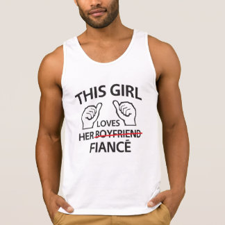This Girl Loves Her Fiance Tank Top