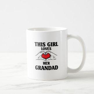 This girl loves her Grandad Coffee Mug