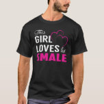 This Girl Loves Her SMALE T-Shirt