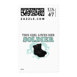 This Girl loves her Soldier Postage