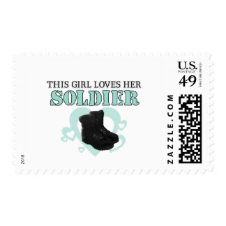 This Girl loves her Soldier Stamp