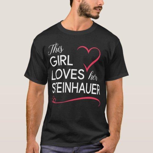 This Girl Loves her STEINHAUER T_Shirt