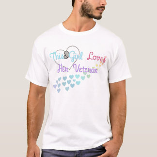 This Girl Loves Her Veteran T-Shirt