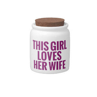This Girl Loves Her Wife Candy Jars