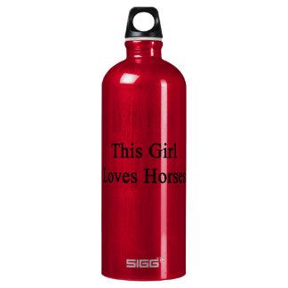 This Girl Loves Horses SIGG Traveler 1.0L Water Bottle